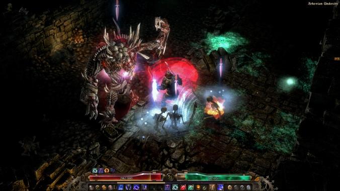 Screenshot of Grim Dawn.